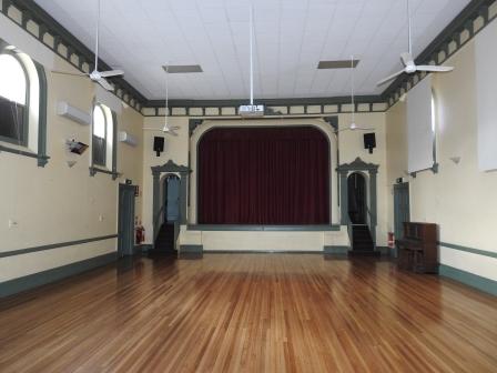Mount Barker Town Hall - main hall