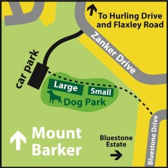 Dog Park Location Map