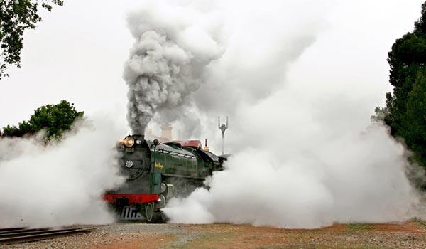 MT Barker SteamRanger