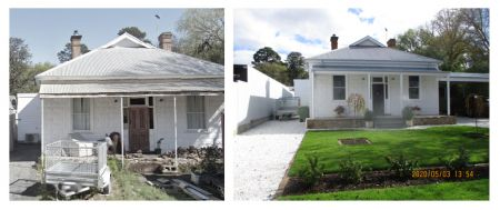 Heritage Incentive Scheme - Mount Barker - Before and After