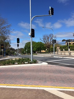 Gawler Ped Crossing Lights 1