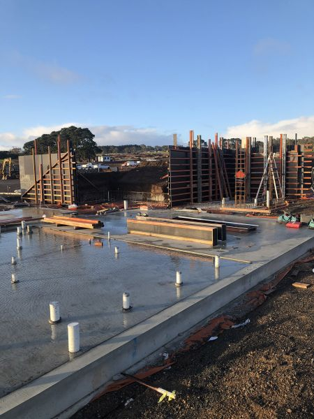 RSH formwork for in situ retaining walls construction April 2020
