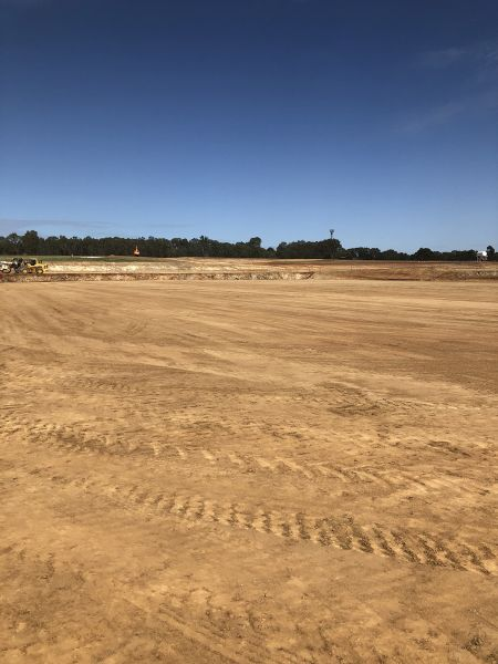 RSH soccer pitch 1 benched March 2020