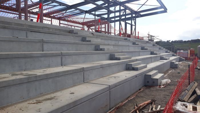 Building B tiered seating again
