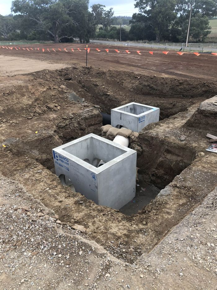 RSH storm water junction boxes March 2020