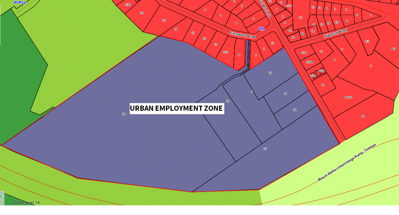 Urban Employment Zone - Totness Employment Lands DPA