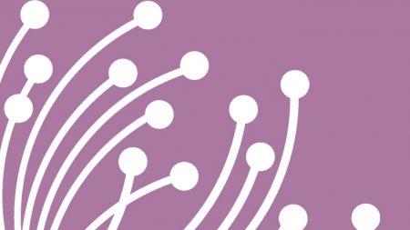 card listing - white stamen on  purple