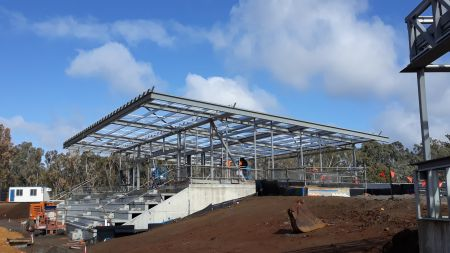 Building B AFL&Cricket (side view) August 2020